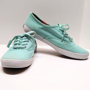 Keds seafoam green sneakers, size 6.5
